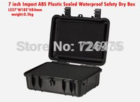 Wholesale 20pcs Impact ABS Plastic sealed waterproof safety equipment case portable tool box Dry Box for camera outdoor equipment