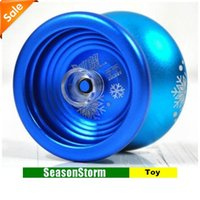 Wholesale CPA Auldey Blazing Teens Metal Alloy Professional YOYO Ball Toy With Package SH