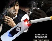 cigar lighter - New USB Electronic Rechargeable Battery Flameless Cigarette Cigar Lighter Multi Color Lighters and verify cash lighter