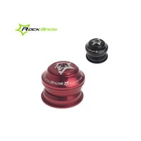 Wholesale ROCKBROS Sealed Cartridge Bearings mm Threadless Semi Integrated Headsets quot Black Red