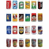 beer can phone - Coke Bottle Beverage Cans Speaker Beer Cans Mini TF Card Speakers Portable Wired Audio AUX Subwoofer Stereo Hifi Sound Box For Phone Tablet