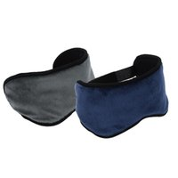 Wholesale USB Infrared Heating Sleeping Eye Mask Blindfold Soft Plush Cotton Eyepatch order lt no track