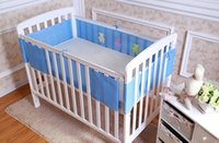baby mesh bumper - Baby Breathable Mesh Crib Bumper Baby Bedding Crib Liner Baby Bedding Bumpers Bed Around Baby Cot Sets