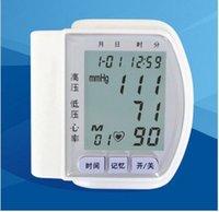 Wholesale Genuine automatic electronic sphygmomanometer sphygmomanometer wrist blood pressure monitor home blood pressure meter
