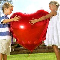aluminum couplings - cm inches7 aluminum oversized heart shaped balloon wedding couple creative gifts balloon