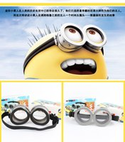 glass toys - cartoon Despicable Me Minions cos D Vintage Cyber Steampunk Goggles Glasses toys For Children Girls Boys Chrismas Gifts Rave Cosplay