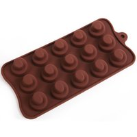 best cake icing - 2015 New arrival Hot sale best quality New Silicone Chocolate Cake Cookie Muffin Candy Shape Ice Cube Mold Tools Style For F