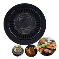 baking stove - 2015 Hot Sale Smokeless Indoor Barbecue Grill Chefmaster Stove Top BBQ Grill Stove Top Grill Brazilian Pan BBQ Tools