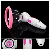 breast care equipment - Electric Breast Enlargement Enlarger Breast Enhancer Suction Pump Dual Cup Machine Bust Massager Breast Care Equipment