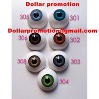 Wholesale 2016 Best selling big size mm mm bjd acrylic doll eyes accessories reborn doll plush doll acrylic plastic eyes