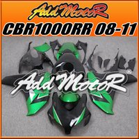 aftermarket honda fairings - Addmotor Injection Mold Aftermarket Fairings Fit Honda CBR1000RR CBR RR Body Kit Green Black H1857 Five Free Gifts