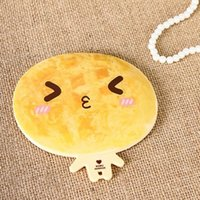 Wholesale Hot Selling And High Quality Plastic Mirror Lovely Shape With Cartoon Picture Shape Mirror For girls Cosmetic
