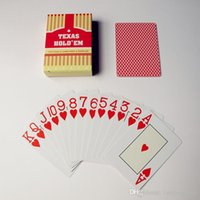 Wholesale 2 set Classic porker card set Texas Holdem poker cards Plastic playing cards Waterproof pokerstars zakka Board games A5