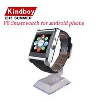 wrist support - 2015 new Smart Watch F8 Smartwatch for android phone MTK6260A Support Facebook Whatsapp Sync relogio bluetooth wearable devices