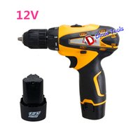 Wholesale hot selling v electric screwdriver cordless drill battery tools