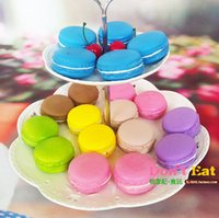 order free cell phones - 5 cm colorful Macarons round soft squishies phone charm squishy Cell Phone Straps mix color order cheap