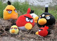 bird toys - Stuffed Animals Toy baby Plush pendant children Gifts High Quality Soft Angry Birds Plush Toys Cloors WD1192