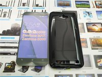 asus crystal black - Soft Crystal Clear Transparent TPU Gel Cover Case for Asus Zenfone Max ZC550KL