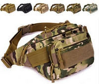 Unisex acu belts - MOLLE Fanny Pack Belt CP Military Waist Bag ACU Tactical Bag Hunting Range Bag Soldier Ultimate Stealth Heavy Duty Carrier Bag