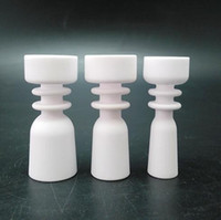 Wholesale Good Price Newl Domeless ceramic nails female joint mm mm mm for glass bongs water pipes