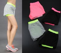 Wholesale Women Running Shorts Women Clothes Fashionable GYM Athletic Sports Dry fit Training Girls Shorts Breathable Fabric Comfortable Elastic fit