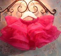 layer cake - Children s Skirts Summer Girls New Net Veil Layers of Cake Skirts