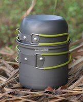 camping cooking pot set - single Camping Pot Hiking Cooking set Picnic Cookware pot pan outdoor ableware