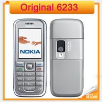 Nokia 6233 Teléfono móvil original Freeshipping poste de Singapur