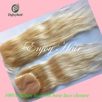 Cheap virgin hair Silk base closure Brazilian hair,Human virgin hair silk base closure ,Brazilian straight silk base closure,613#color free part.
