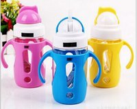 sippy cups - Baby cup bottle with handle leakproof water kettle sippy cups school baby drink a cup of drink bottles