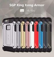 Wholesale SGP Slim Armor phone case Hybrid Tough Case Heavy Duty Defender Back Cover Shockproof Protector for Galaxy J1 ACE J1 J2 J3 J5