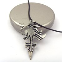 Pendant Necklaces lion charms - Statement Necklaces Final Fantasy VIII Griever Squall Leon Hart Necklace Lion Head Pendant Necklace