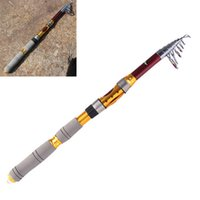 Wholesale Hot Sale Portable Telescope Fishing Rod M FT M FT M FT m FT Travel Spinning Fishing Pole FHG_00C