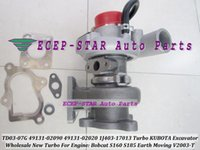 Wholesale TD03 G J403 Turbo Turbocharger For KUBOTA Excavator V2003 T For Bobcat S160 S185 Earth Moving Tractor New