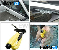 Wholesale 3 In Car Escape Rescue Tool Keychain Glass Breaker And Seatbelt Cutter Hammer