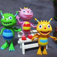 Wholesale Toys Set of Plastic cm Henry Hugglemonster Toy Henry Monster PVC Action Figure Toys in Stock
