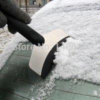 Cheap Free Shipping Mini Auto Car Vehicle Snow Ice Shovel Scraper Removal Clean Tool Black 21111