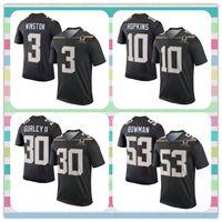 american football team jerseys - New Product Pro Bowl Game Jersey American Football Bowman Todd Gurley DeAndre Hopkins Jameis Winston Blue Black Men Team Irvin