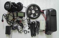 48v 500w kit motore 8FUN metà posizione intermedia auto Bafang con soluzioni di e-bike completi pacco batteria 48v 12Ah