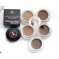 Enhancers - Anastasia Dipbrow Pomade Beverly Hills Blonde Auburn Chocolate Dark Brown Ebony Waterproof Eyebrow Enhancers g Oz Full Size NEW