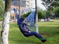 Wholesale Summer Lightweight Nylon meshy hammock light and portable Single Max Load KG Cm Mix Color