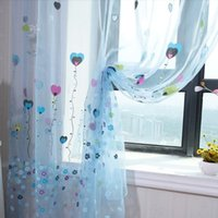 balloon valance - 2 Color Balloon Tulle Voile Door Window Curtain Drape Panel Sheer Scarfs Valances Window Scarfs