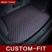 acura custom - Interior Accessories Floor Mats Custom fit car trunk mat for Infiniti EX25 FX35 G35 JX35 Q70L QX80 D all weather car styling