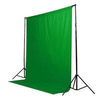 Verde 6x9 pantalla Telón de fondo FT muselina Video Foto Fotografía Iluminación del estudio Antecedentes de envío gratuito