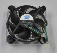 Wholesale New Genuine Intel CPU Cooler HeatSink and in Fan Support Core2 Duo Socket Processor up to G Pin Connector