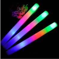 Wholesale Brand new Low price LED Glow Stick Flash Light Toy fluorescent Sword concert Christmas Carnival Toys