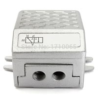 Wholesale G1 Threaded Air Pneumatic Pedal Valve Foot Switch Way Position Silver High Quality