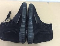 Cheap 2016 Yeezy 750 boost Blackout Online Sale High Top Yeezy 750 boost Blackout 2016 New Men And Women Shoe Boots