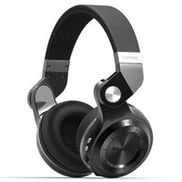 Cheap DHL 10pcs Bluedio T2+ Wireless Headphone Stereo Bluetooth 4.1 Headphones fashionable foldable supports FM Radio SD Card