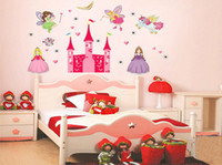 animal decal wallstickers - DIY The New Wall Stickers Home Décor The Princess Castle Wallpaper Girl s Best Love Wallstickers For Children Room Decoration WS4078
